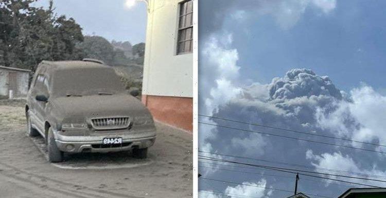 St Vincent volcano eruption: La Soufriere showers Caribbean with ash after explosive event