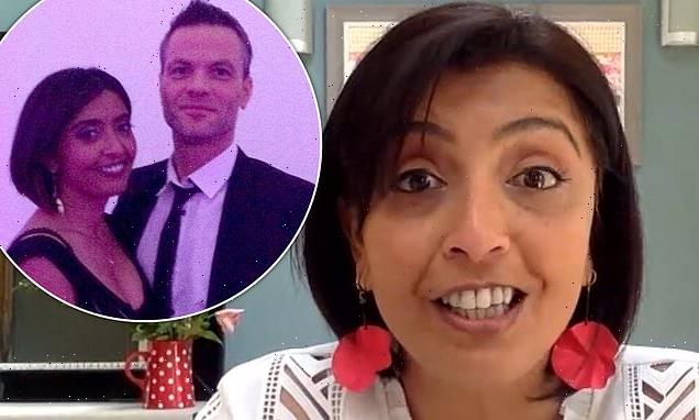 Sunetra Sarker and husband Scott Carey live 'happily apart'