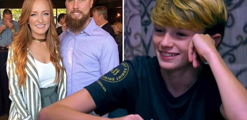 Teen Mom Maci Bookout likes tweets about husband Taylor calling Bentley 'our son' during fight with ex Ryan's parents