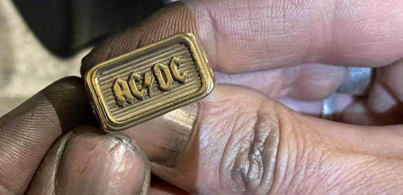 This Luxurious AC/DC Tribute Line Has a Chanel Connection