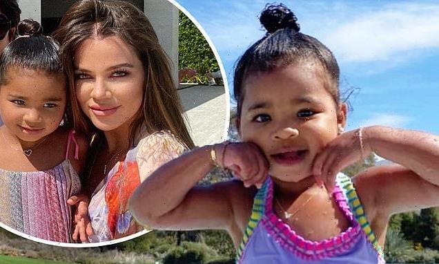 True Thompson is three! Khloe Kardashian's daughter has a birthday