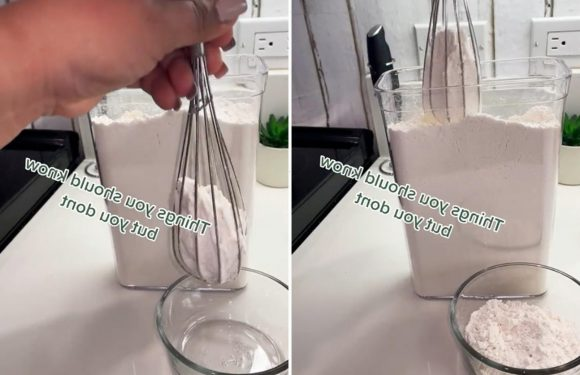 Woman shares easy whisk hack which has cooking fans floored, but not everyone's a fan