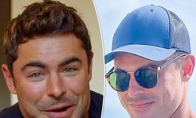 Zac Efron hides his famous face beneath hat and shades in new post