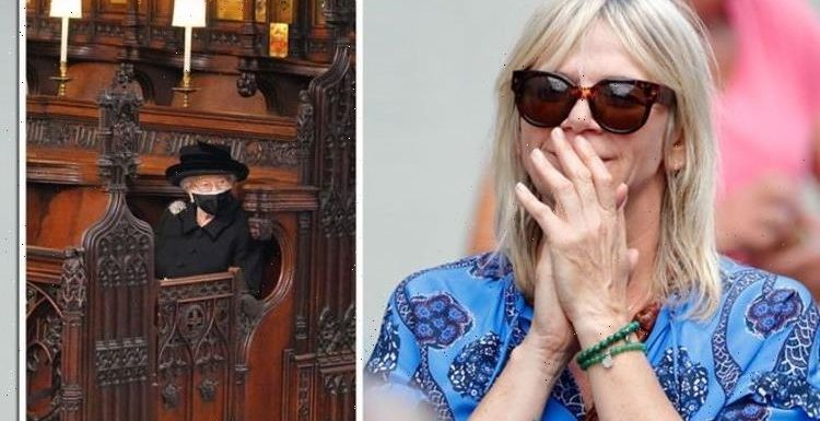 Zoe Ball in tears over Prince Philip's funeral as she speaks out on return to BBC Radio 2