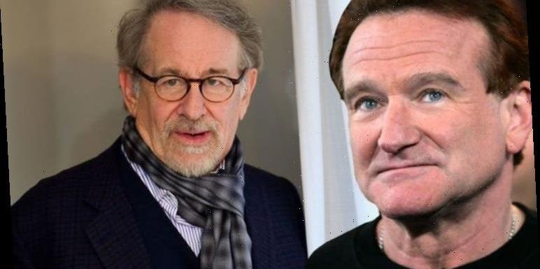 Robin Williams comforted Steven Spielberg during Schindler's List shoot