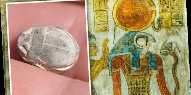 Archaeology news: Ancient Egypt amulet discovery in Israel has striking link to Sun god Ra