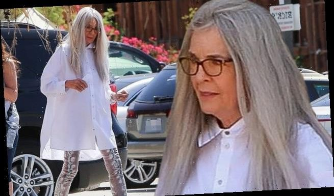 Diane Keaton is as kooky a style icon as ever filming in Palm Springs