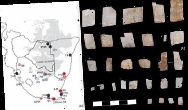 105,000-year-old ritual crystals found in Kalahari Desert