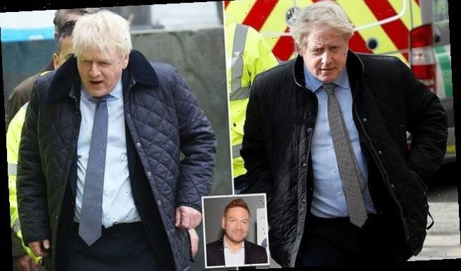 Kenneth Branagh transforms into Boris for drama series on UK in Covid