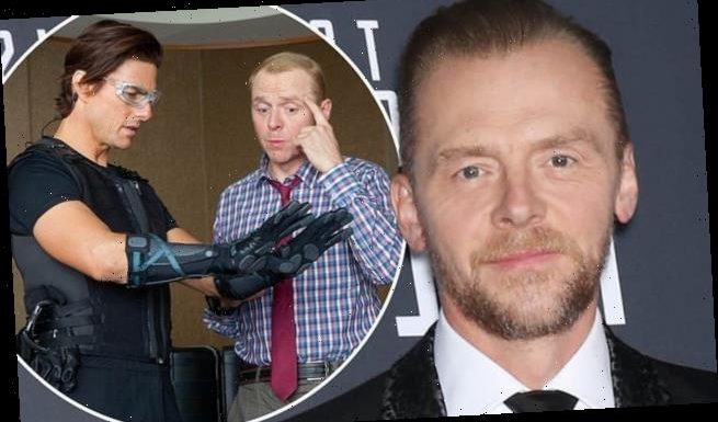 Simon Pegg admits he was 'a wreck' filming Mission Impossible III