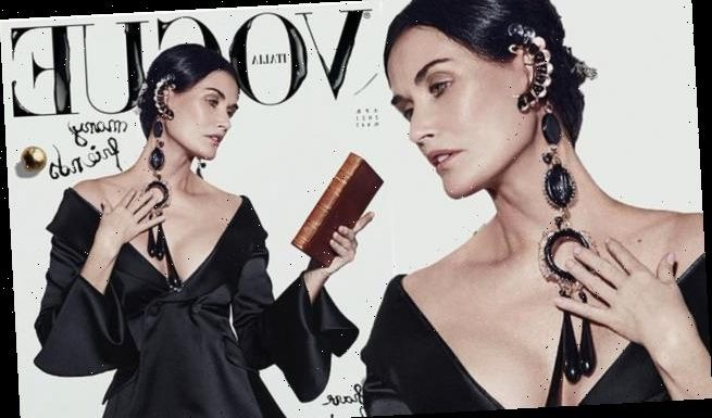 Demi Moore, 58, looks timeless as she graces the cover of Vogue Italia