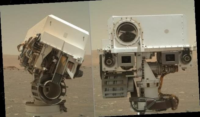 NASA's Perseverance rover snaps selfies of its 'head' and 'face'