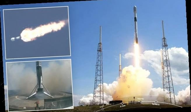 SpaceX launches TENTH batch of Starlink satellites into orbit for 2021