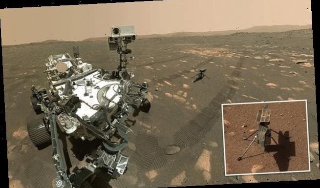 NASA's Perseverance and Ingenuity snap a selfie on Mars