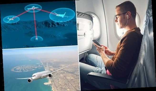 Airline passengers may soon connect to the internet via LASER