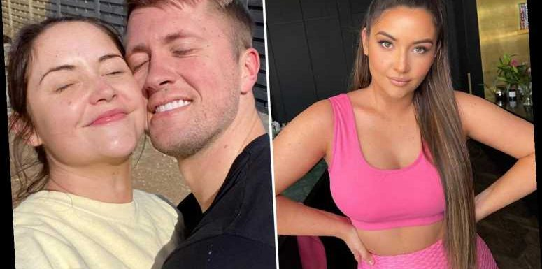 Jacqueline Jossa looks incredible in pink crop top and gym leggings after claiming she's ditched the gym in house move