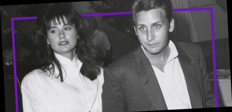 "Demi Moore Postponed Her Wedding to Emilio Estevez Because She Was ""Very Low"" on His Priority List"