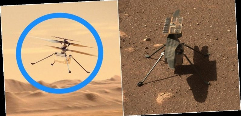 Watch NASA attempt to fly its Ingenuity helicopter on Mars for the first time early on Monday