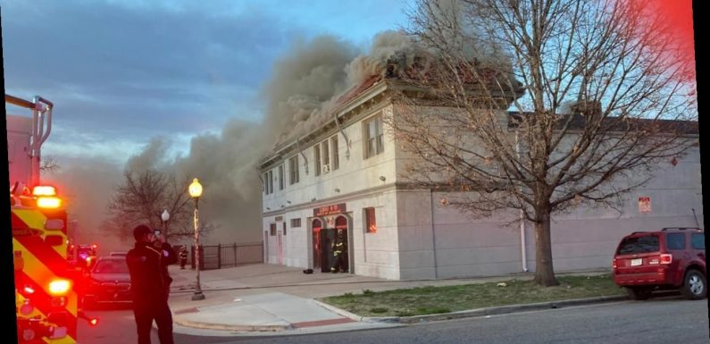 Denver church bursts into flames, explosion recorded from the sky