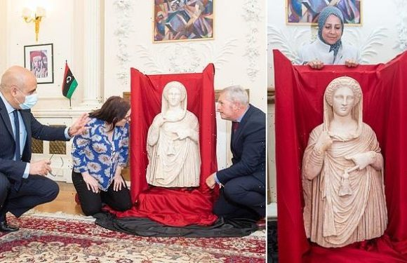 2,000 year old smuggled statue will return to Libya by British Museum