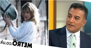 Adil Ray flustered as he interviews Emmerdale crush Claire King