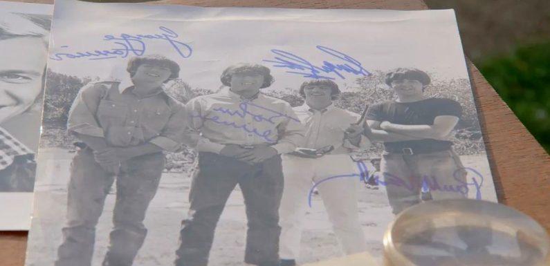 Antiques Roadshow expert says 'fake' Beatles memorabilia worth eye-watering sum