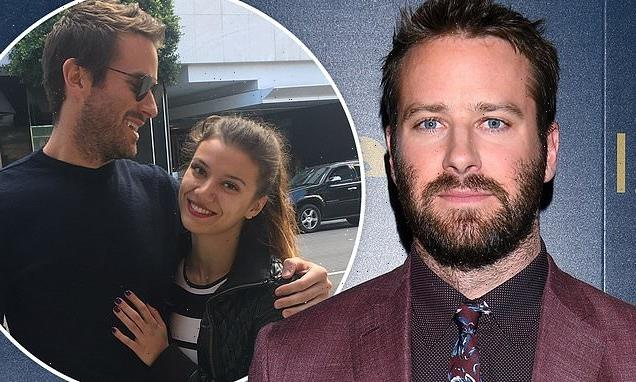 Armie Hammer is 'dating a dental hygienist' amid rape accusations