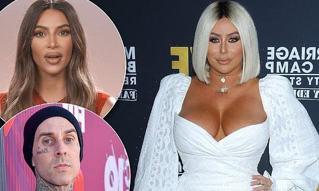 Aubrey O'Day makes wild claim that Kim and Travis hooked up