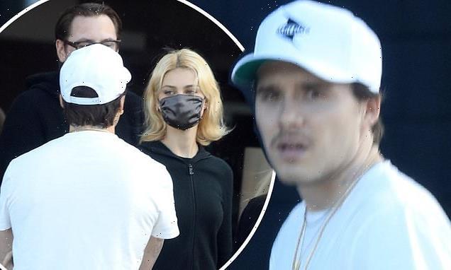 Brooklyn Beckham enjoys outing with fiancée Nicola Peltz in Hollywood