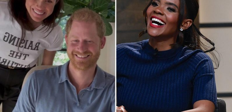 Candace Owens mocks Harry and Meghan for doing ANOTHER Oprah interview and asks if 'somebody can check on them'