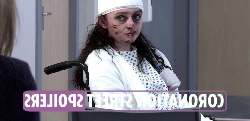 Coronation Street spoilers: Nina Lucas struggles as her devastating injuries are laid bare