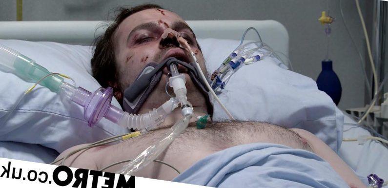 Corrie star Harry Visinoni reveals his reaction to Seb's sad death