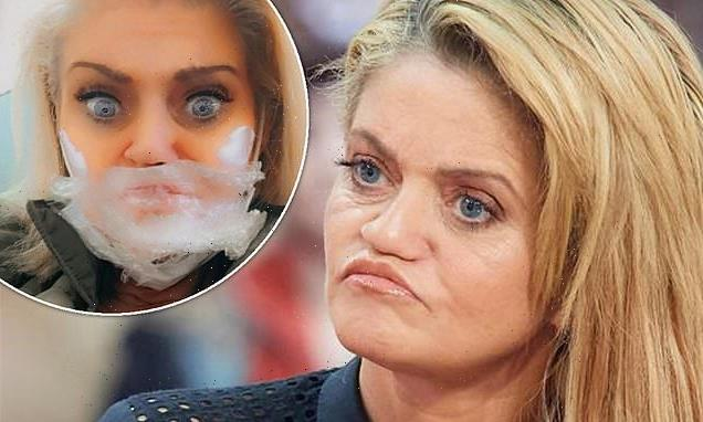 Danniella Westbrook has the first of four reconstructive surgeries