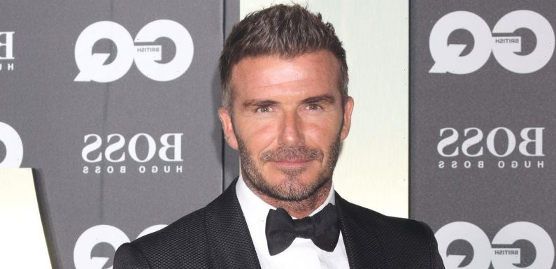 David Beckham calls out son Romeo for copying iconic bleached hairstyle: 'Wonder where you got that idea!'