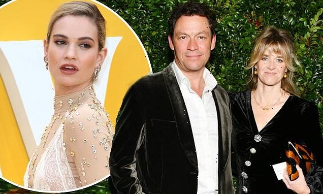 Dominic West plans 50th birthday party for wife Catherine FitzGerald