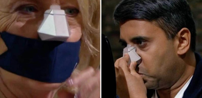 Dragons' Dens viewers gobsmacked as 'stupid' £85 nose filter gets backing