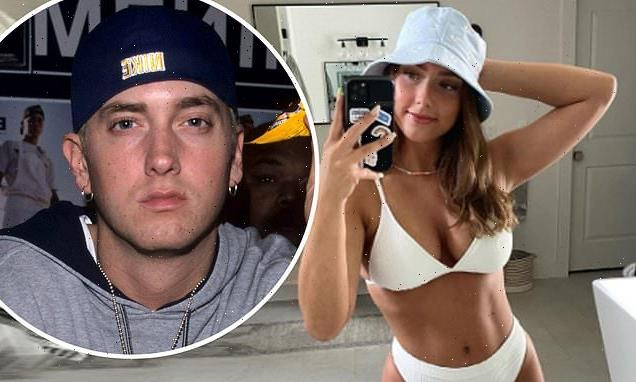 Eminem's daughter Hailie Mathers, 25, shows off her incredible figure