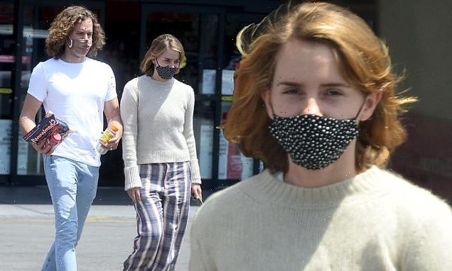 Emma Watson heads out with rumoured fiancé Leo Robinton in Los Angeles