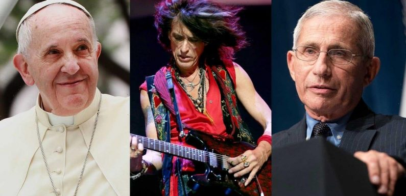 Fauci, the Pope, and Aerosmith's guitarist are taking part in a 3-day COVID-19 conference at the Vatican