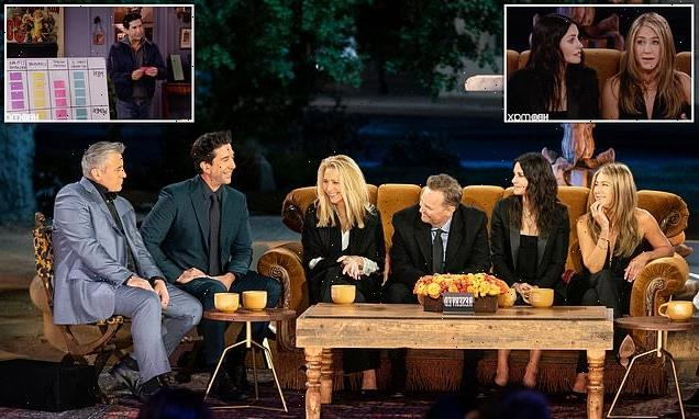 Friends Reunion Special: The six iconic pals are FINALLY back together