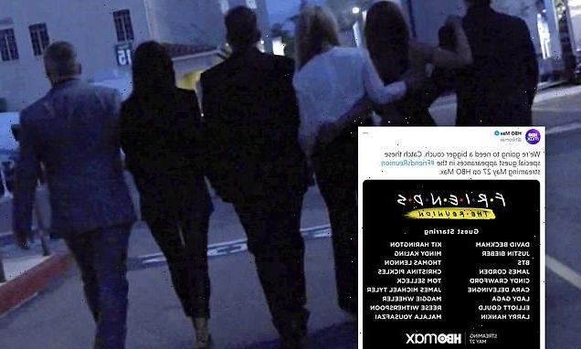 Friends Reunion Special reveals special guest stars including BTS