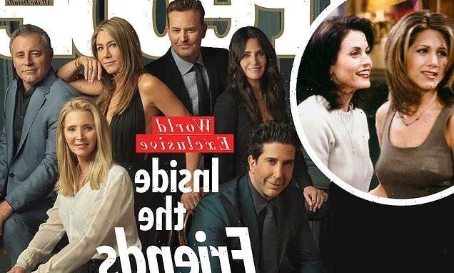 Friends stars ALL cover People together ahead of HBO Max reunion