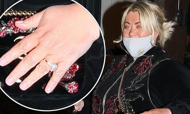 Gemma Collins flashes sparkler beau Rami Hawash proposed with in 2013