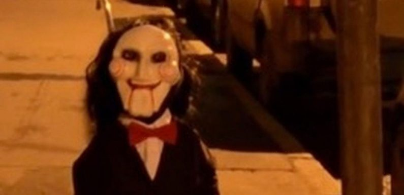 Google Maps users spooked after finding Saw puppets in creepy street scene