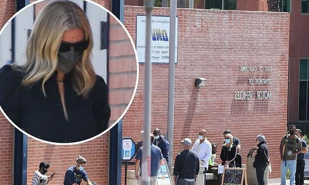 Gwyneth Paltrow gets the VIP treatment and skips the line at the DMV