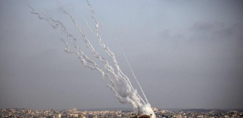 Hamas fires rockets deep into Israel as tensions escalate