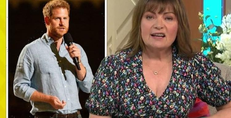 'He has to be careful' Prince Harry warned by Lorraine Kelly over First Amendment comments