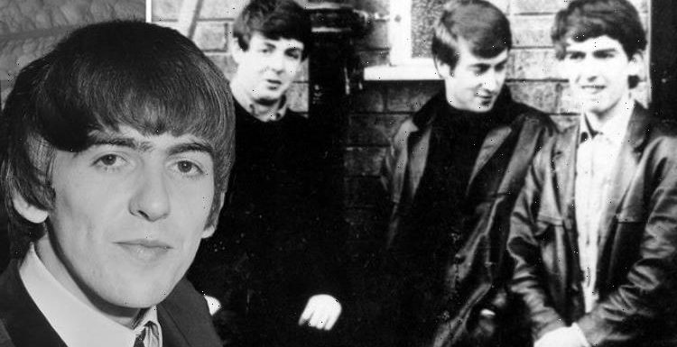 How did George Harrison join The Beatles?