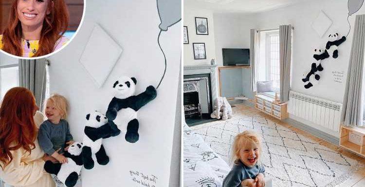 Inside Stacey Solomon's £917 complete makeover of baby Rex's bedroom