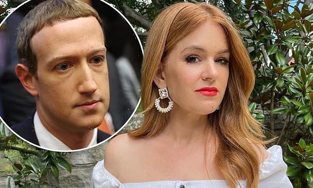 Isla Fisher slams Facebook founder Mark Zuckerberg